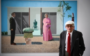 Scritto communication écrite David Hockney